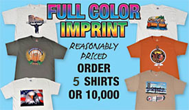 Full Color Printed t shirts